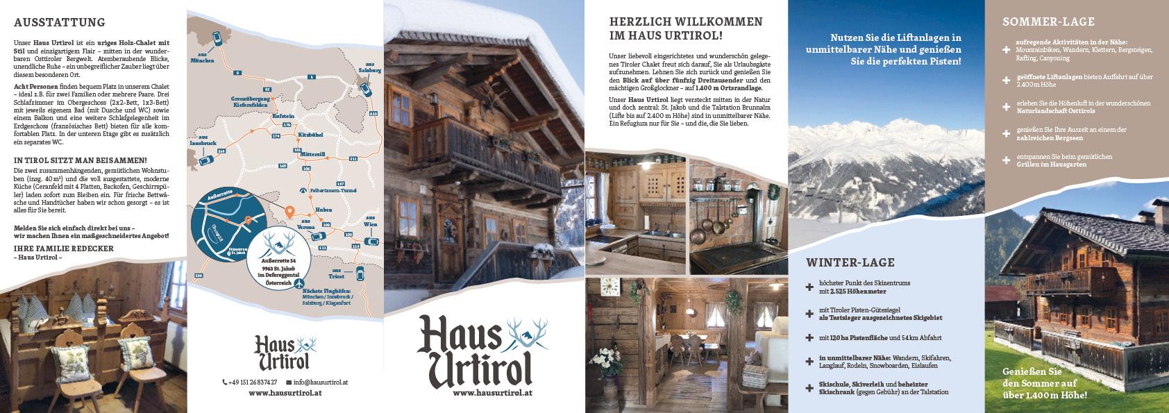 Haus Urtirol Flyer